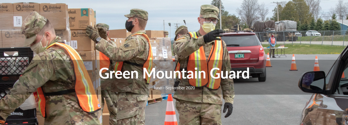 Green Mountain Guard: June - Sept. 2020
